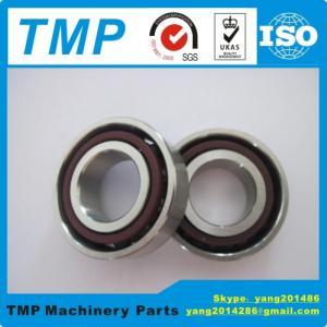China 7209C/AC DBL P4 Angular Contact Ball Bearing (45x85x19mm) TMP Band High Speed  Electric Motor Bearing on sale