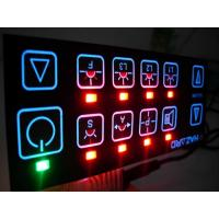 Vandal Resistant Flat Keys Illuminated Backlighting Keyboards Led Membrane Switches