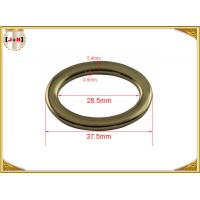 Nickel Plated Round Ring Small Metal Loops Hardware For Belt / Bag / Garment