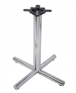 China Modern Style Bar Table Legs Steady Chrome Table Base 27.75\/40.75\ Height on sale