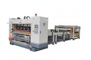 China Automatic Cardboard Box Making Machine 1600MM 150m Per Min For Corrugated Sheet on sale