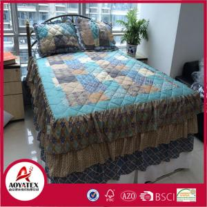 China Wholesale China Hot Sale Super Cosy patchwork bed sheets and comforter set on sale