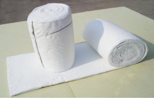 China High Temperature Aluminium Silicate Ceramic fiber Blanket Using in Glass Furnace on sale