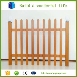 China fence wpc materials wood plastic composite cladding Chinese company manufacturer on sale