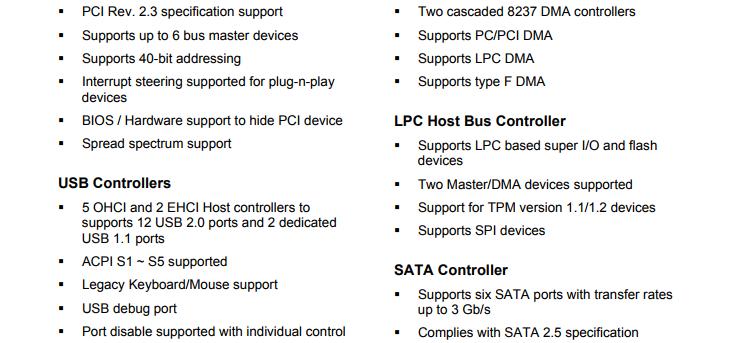 PC Chipset Northbridge And Southbridge , 218-0660017
