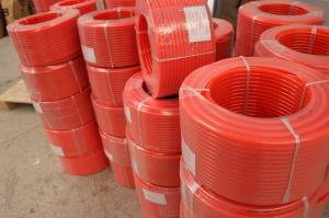 China Red Color Textile Industry Polyurethane Round Belt , PU Urethane Drive Belts on sale