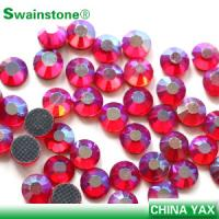 China T0811 New Arrival Siam ab ss6 loose colored crystal stone,crystal loose stone,crystal stone loose for wedding dress on sale