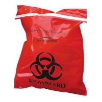 China Large Autoclavable Biohazard Waste Bags Recyclable 15 - 100 Micron Thickness on sale