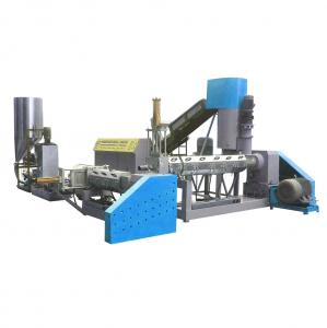 China Water ring cutting plastic recycling peletizer on sale