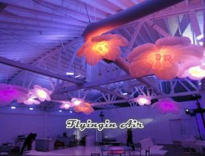 China Hot Lighting Inflatable Flower for Stage, Concert, Music and Exhibition on sale