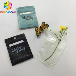 China Transparent Clear Front Plastic Pouches Packaging Aluminum Foil Back Weed Mylar Bag on sale