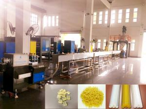 China Excellent EVA Hot Melt Adhesive Glue Stick Rod Making Machine on sale