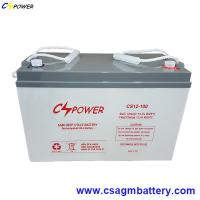 China 12V 100ah VRLA Deep Cycle Lead Acid AGM Battery for UPS on sale