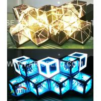 Creative LED Displays Led Stage Screen-DJ screen/LED DJ booths/ LED Diamond-P4-3.786