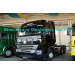 prima de 420HP HOWO A7 - reboque do caminhão do motor, caminhões do transporte do diesel 6x4, preto selvagem