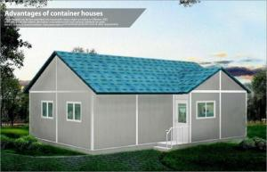 China Village light steel structure building mobile prefab house , Contemporary Design on sale