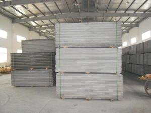 China Light Weight Fiber Cement Board, Thickness: 60mm, 75mm, 90mm, 120mm on sale