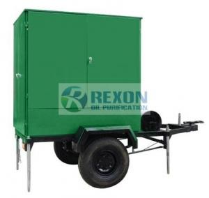 China 3000 Liters / Hour Enclosed Mobile Oil Filtration Unit Dielectric Insulating Oil Onsite on sale