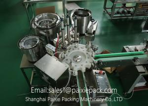 China High Speed E Juice / E - Cigarette Filling Capping Machine Electric Driven on sale