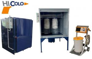 China Small Manual Powder Coating Line automated spray booth For Car on sale