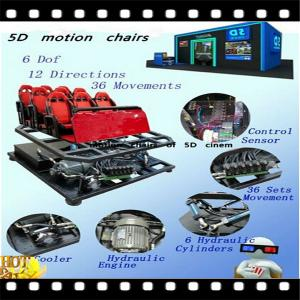 China Professional 5D cinema equipment with fashion chiars on sale