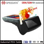 China IP65 Outdoor Dustproof Handheld Terminal PDA Scanner Android Smart MSR Card wholesale
