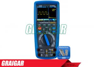 China Industrial Electrical Instruments Multimeter DT - 9989 Oscilloscope Functions on sale