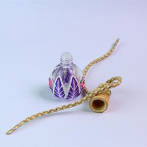 China Wholesale 15ml spherosome half polymer clay Bag&Car Pendant Perfume essence oil bottle on sale