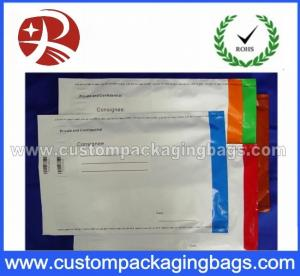 China Clear Security Coin Packaging Bags , Duty Free Bag Environmental on sale