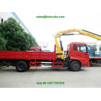 dongfeng kingrun Truck Mounted Crane XCMG cranes 6T.m boom   truck mounted crane Whatsp:8615271357675