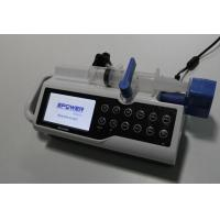 Double CPU Intravenous Medical Syringe Pump With Rechargeable Battery