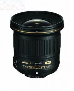China Cheap Nikon AF-S NIKKOR 20mm f/1.8G ED Lens,buy now!! on sale