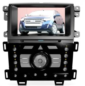 China 2013 Edge Ford DVD Navigation System with 8 Inch Touch Screen and GPS / BT / TV / IPOD / Radio on sale
