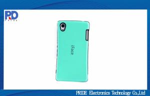 China Mint Green Mobile Phone Protective Cases For Sony Xperia Z3 Anti - Scratch on sale