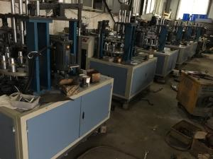China Single PE Laminated PP Cup Making Machine Paper Cup And Plate Making Machine on sale