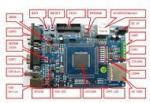 China CuteDigi NXP LPC2388 Development Board wholesale