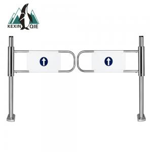 China supermarket barrier turnstile/Mechanical Entrance and Exit gate on sale