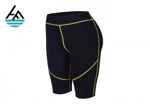 China Neoprene Workout Pants High Waist , Sporting Womens Thermo Shaper Pants on sale