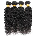 30 Inch No Shedding Malaysian Curly Virgin Hair Extensions For Black Women