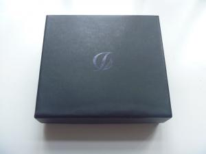 China Black Custom Paper Packaging Boxes Printing Hot Stamping Black Foil Finish on sale