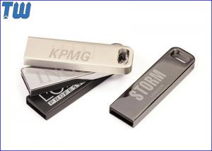 China Stainless Metal 4GB Flash Drive for Business Man and Company Gift on sale