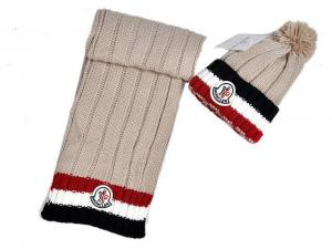 ... Quality wholesale luxury ladies hats and scarf 2015 moncler women s  winter hat and scarf for sale ab081e18aaa