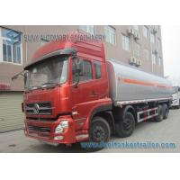China Carbon Steel 270hp 40m3 Diesel / Water / Oil Tank Trailer Truck 8x4 on sale