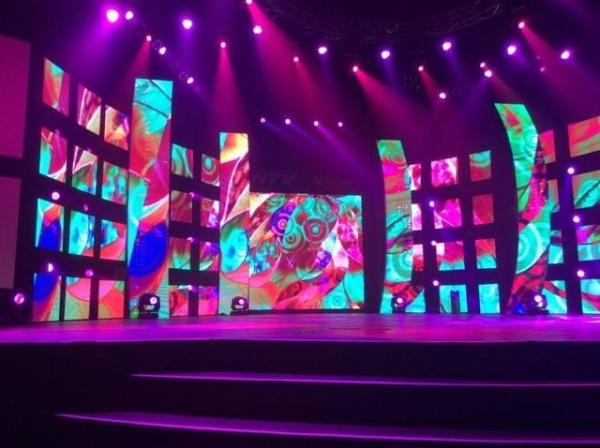 Stage background LED Stage screen rental full color Die