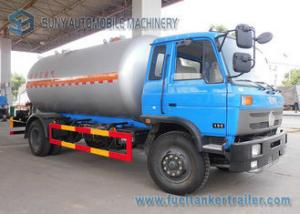 China 12000L Lpg Tanker Truck / Lpg Gas Tanker Truck 1mm Rust Thickness For Lpg Cylinder on sale