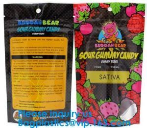 China Custom Label Printed 0.5g 1g 2g Black Matte Smell Proof Aluminum Foil Ziplock Zipper Bag Smell Proof Bag Child Proof Myl on sale