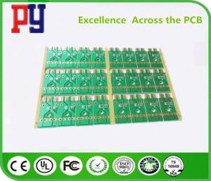 China Transfer Single Sided Circuit Board , One Layer Pcb Molding 22F Fiberglass 1OZ Copper on sale