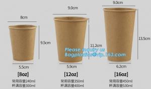China Custom logo printed disposable double wall hot bamboo coffee paper cup with lid,Biodegradable take away double wall coff on sale