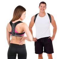 humpback posture corrector and clavicle posture corrector free size black for Humpback