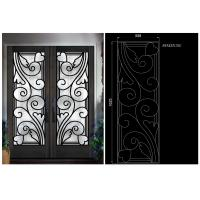 China top notch security easy cleaning  Inlaid Door Glass for Building Decorative insulated and tempered on sale